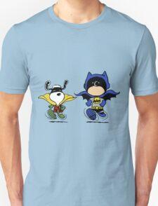 Batman and Robin Peanuts Unisex T-Shirt