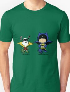 Batman and Robin Peanuts T-Shirt