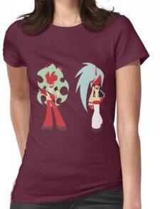 Simplistic Scanty & Kneesocks Womens Fitted T-Shirt