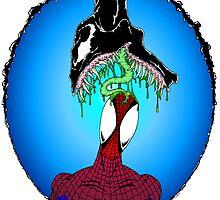 Venom vs Spidey by Skree
