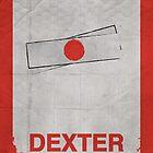 Dexter minimalist poster by thegDesigns