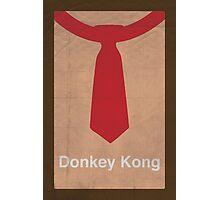 Donkey Kong minimalist poster Photographic Print