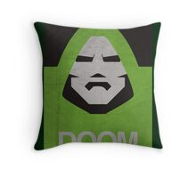 DOOM Minimalism poster Throw Pillow
