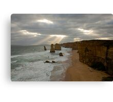 Brightening up a Grey Day  Canvas Print