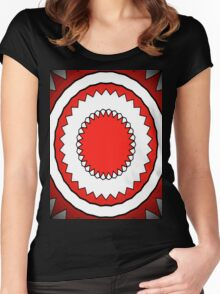 Trippy Hippy 12 Women's Fitted Scoop T-Shirt