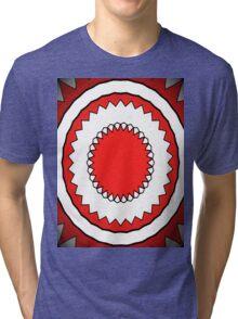Trippy Hippy 12 Tri-blend T-Shirt