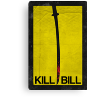 Kill Bill minimalist poster Canvas Print
