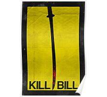 Kill Bill minimalist poster Poster
