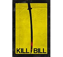 Kill Bill minimalist poster Photographic Print