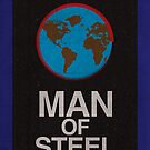 Man of Steel minimalist poster by thegDesigns