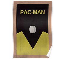 Pac-Man minimalist poster Poster
