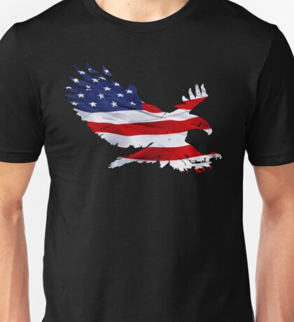 Screaming American Eagle Unisex T-Shirt