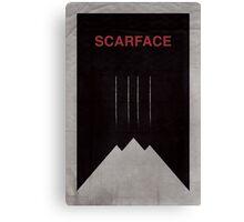 Scarface minimalist poster Canvas Print