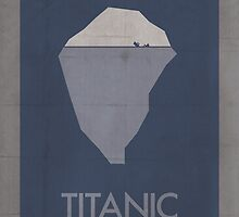 Titanic minimalist poster by thegDesigns