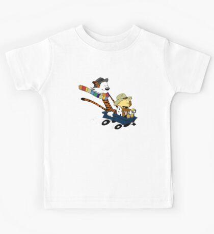 Calvin And Hobbes Doctor Calvin Kids Tee