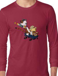 Calvin And Hobbes Doctor Calvin Long Sleeve T-Shirt