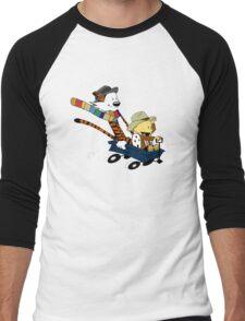 Calvin And Hobbes Doctor Calvin Men's Baseball ¾ T-Shirt