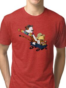 Calvin And Hobbes Doctor Calvin Tri-blend T-Shirt