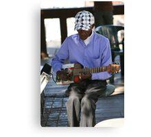 Cape Town Guitarist Canvas Print