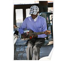 Cape Town Guitarist Poster