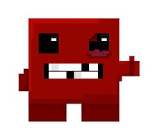 Meat boy - 8bit  by DaveBot