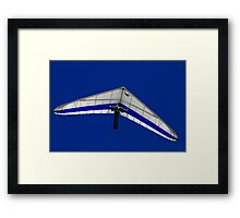 Hang Glider Framed Print