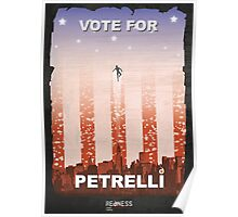Vote for Nathan Petrelli Poster