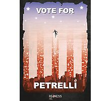 Vote for Nathan Petrelli Photographic Print