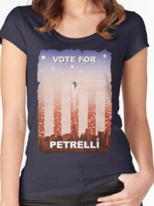 Vote for Nathan Petrelli Women's Fitted Scoop T-Shirt