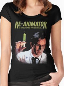 Re-Animator Shirt Women's Fitted Scoop T-Shirt