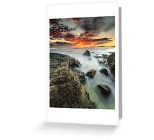 """""""A New Tomorrow"""" ∞ Currumbin, QLD - Australia Greeting Card"""