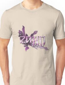 Purple 2D Zaxo Unisex T-Shirt