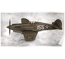 Curtiss P-40 Warhawk  Poster