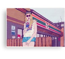 Mall Rats  Canvas Print