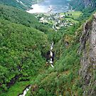 View on Geiranger - Norway by Arie Koene