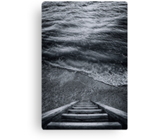 The Way to Unknown Canvas Print