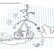 I Ride My Bike With Aliens On My Head - End of July 2013 by Robert Phillips