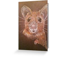 Field Mouse Greeting Card