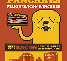 Bacon Pancakes by georgeybro