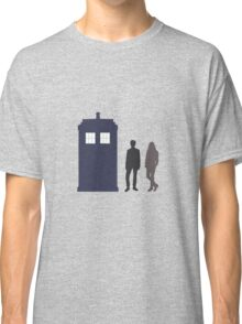 The Doctor and Amy Pond Classic T-Shirt
