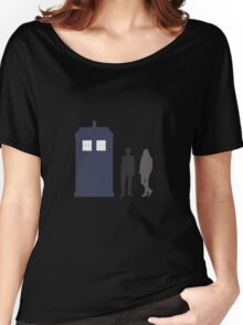 The Doctor and Amy Pond Women's Relaxed Fit T-Shirt