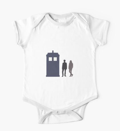 The Doctor and Amy Pond One Piece - Short Sleeve