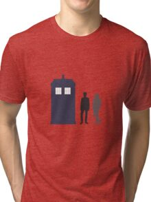 The Doctor and Amy Pond Tri-blend T-Shirt