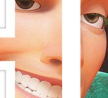 """""""Hi"""" - Flynn Rider from Tangled Sticker"""