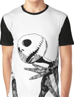 Jack - The nightmare before christmass Graphic T-Shirt