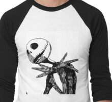 Jack - The nightmare before christmass Men's Baseball ¾ T-Shirt