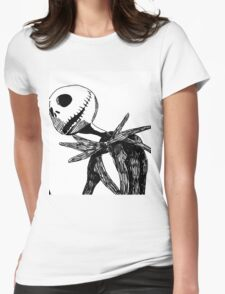 Jack - The nightmare before christmass Womens Fitted T-Shirt