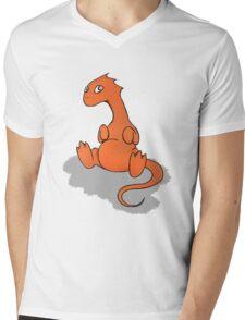 Baby Smaug Tee Print Mens V-Neck T-Shirt