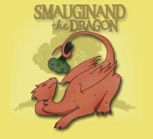Smauginand the Dragon Tee Print One Piece - Short Sleeve