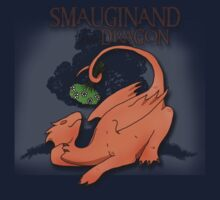 Smauginand the Dragon Tee Print Kids Clothes